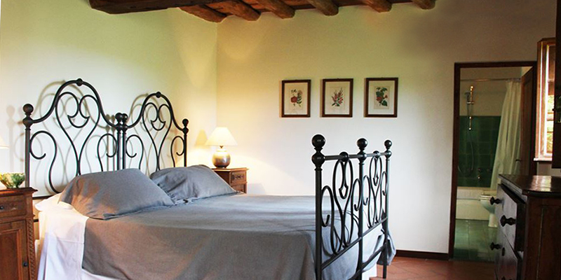 Charming comfort in the bedrooms at Il Ciliegio
