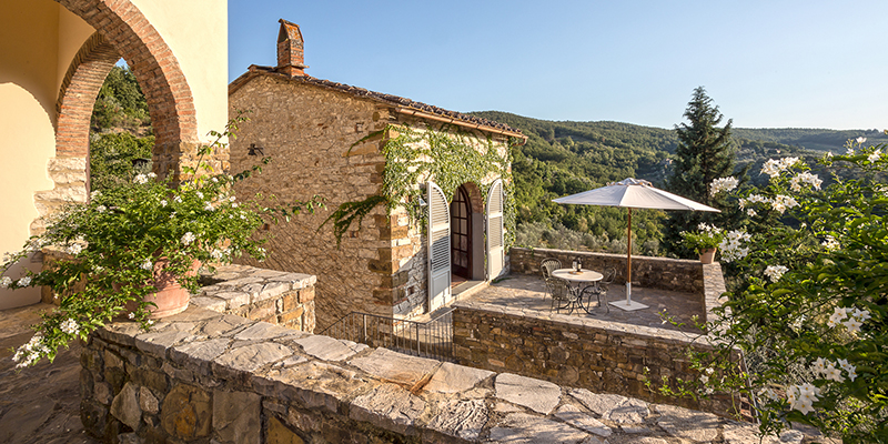 relax and take in the views from the patio, Casa Fede
