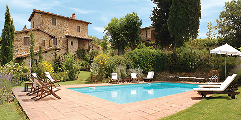 Relax at the pool, Casa La Rota