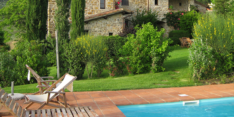 Relax by the pool at Il Gelso